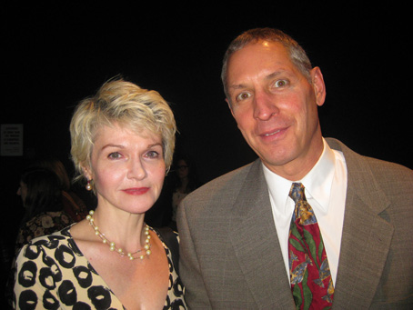 Deirdre Brennan of Fort Lee Film Comission and Gary Donatelli of the DGA