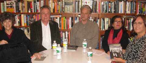 Jane Gaines, Alan Williams, Charles Musser, Joan Simon and Alison McMahan at 192 Books