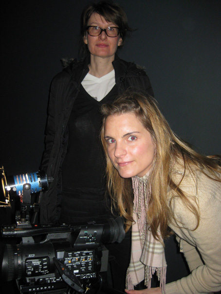 Susanne Reichling, Producer for Arte, and Cinematographer Daniele Salm
