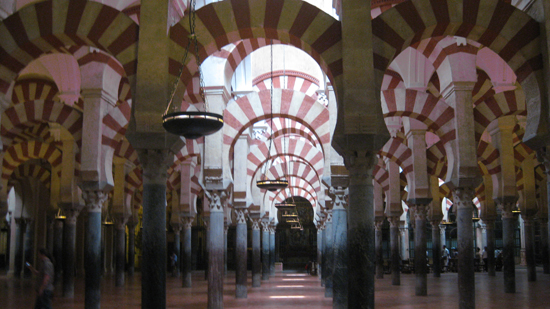 La Mezquita de Cordoba, now a Cathedral