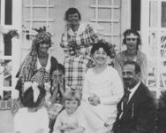 Alice Guy Blache with family and friends