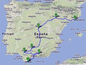 Alice Guy's Film Itinerary through Spain